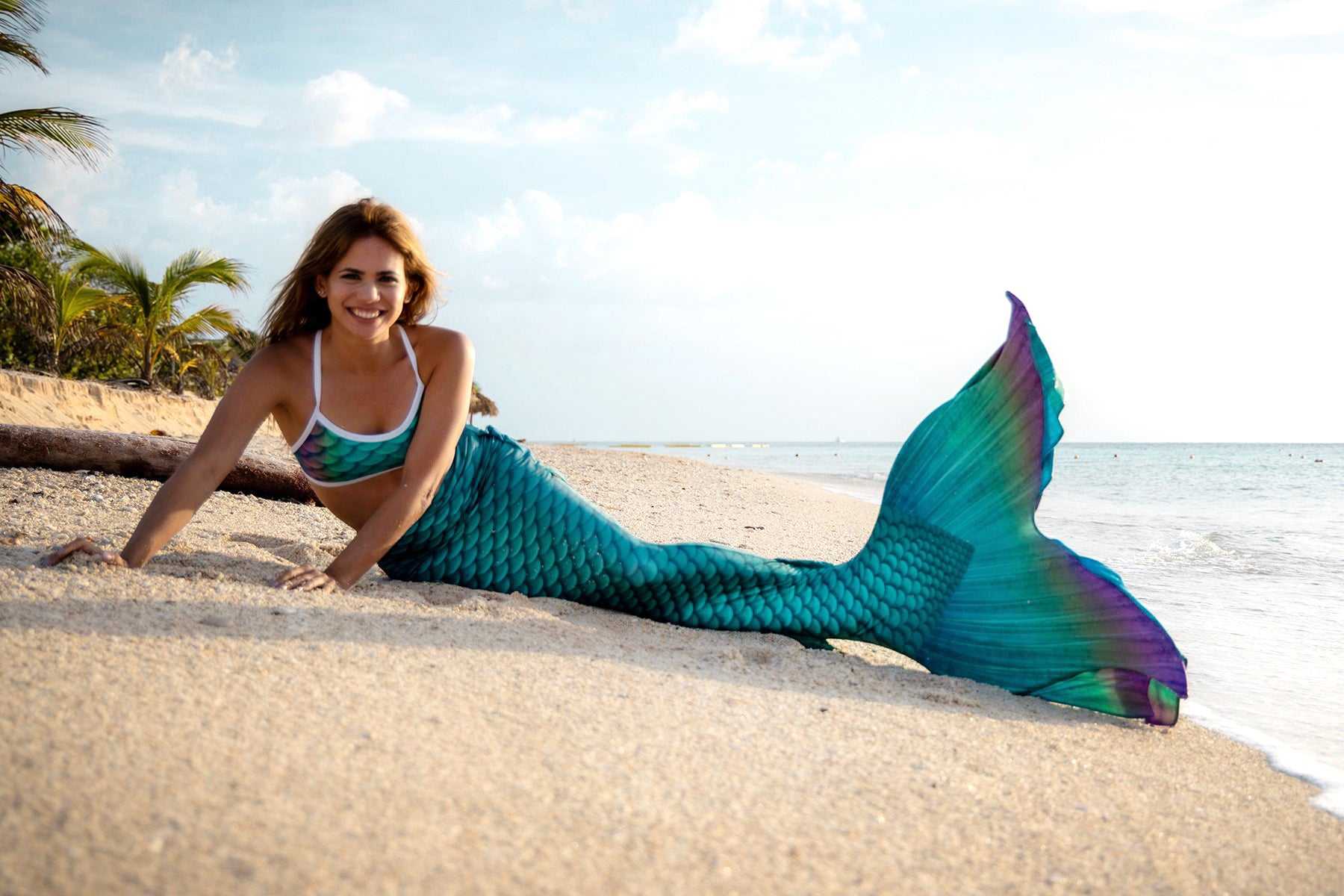 Caicos Mermaid Tail - DiveTail by Cape Cali
