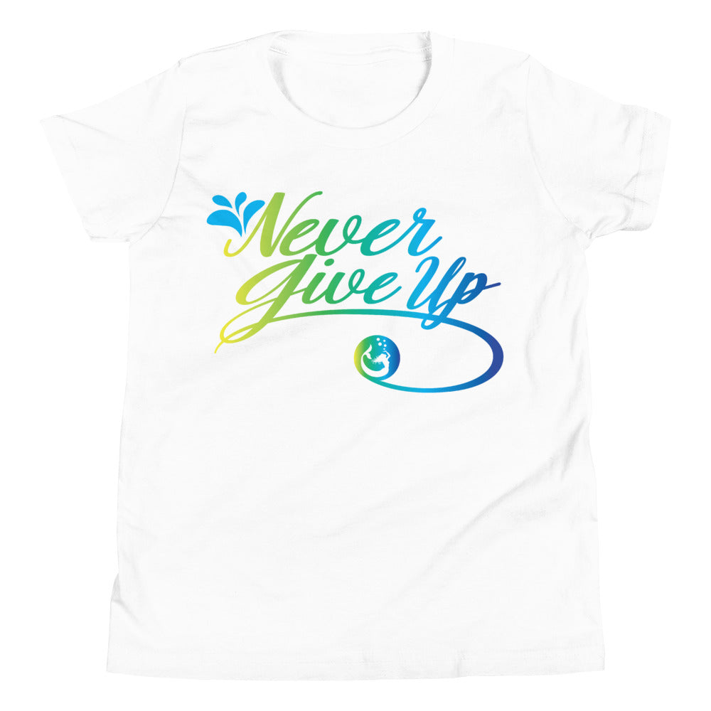 "Mermaid Elle ""Never Give Up"" Kids Tee - Cape Cali"