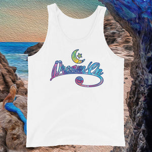 "Mermaid Elle ""Dream On"" Unisex Tank Top - Cape Cali"