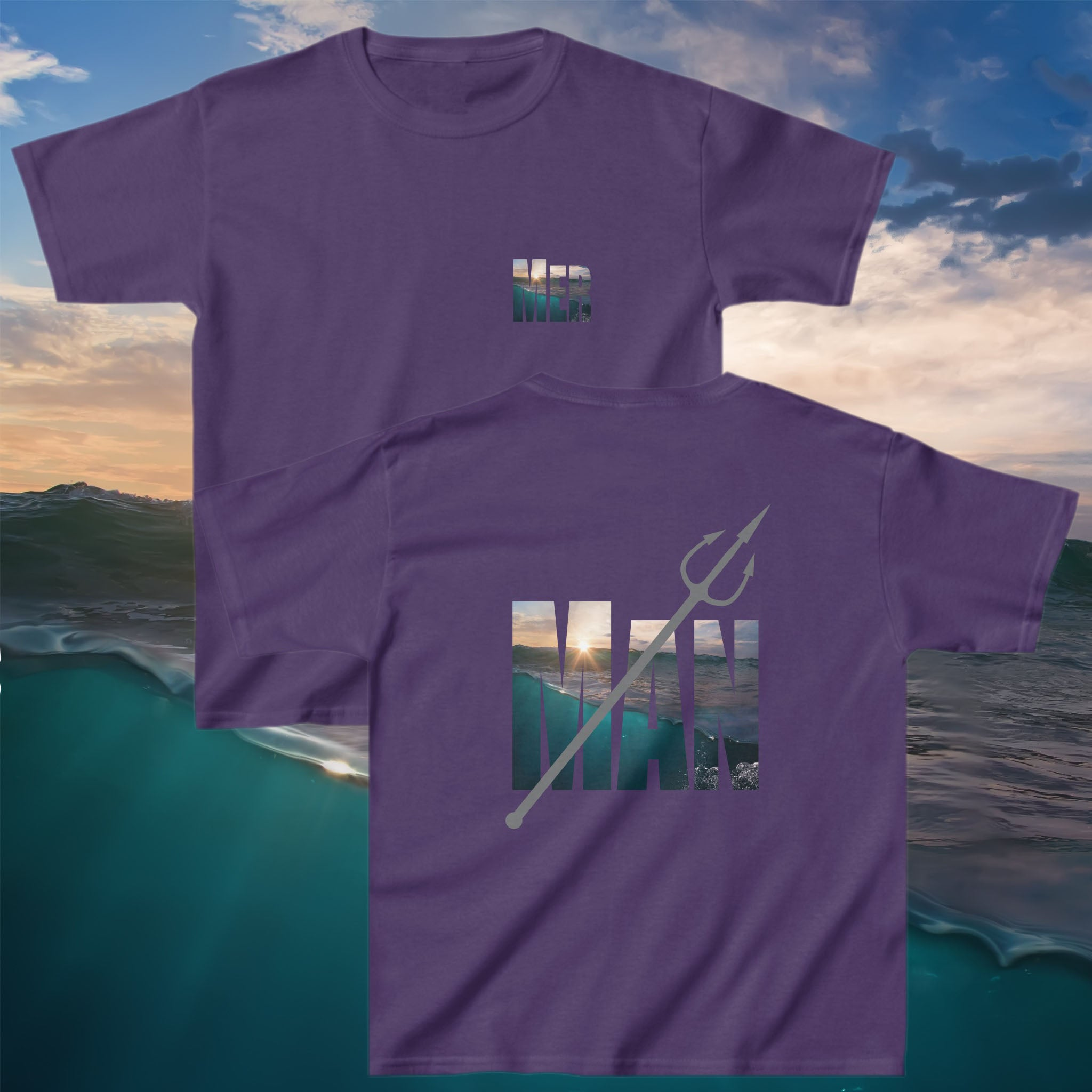 Kids Merman Tee - Cape Cali