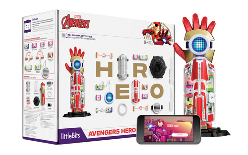 littleBits - Avengers Hero Inventor Kit.