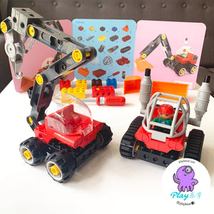Build your own construction toy sets