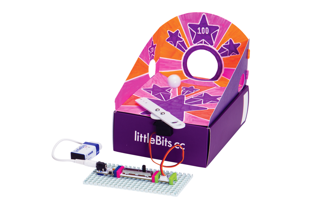 littleBits - Hall of Fame Arcade game kit.