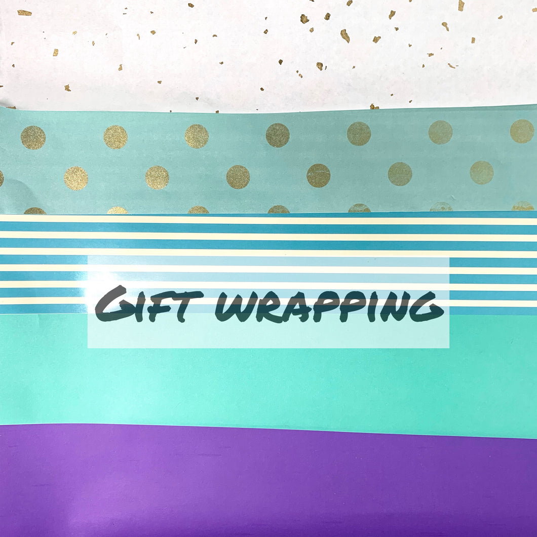 Gift wrapping 礼物包装