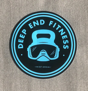 Deep End Fitness Stickers- Set of 3