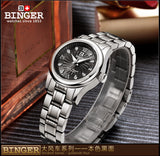 BINGER watch for women, watch approves of water 3BAR
