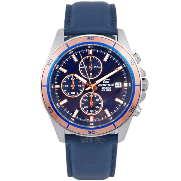 Edifice watch for men, water resistant watch