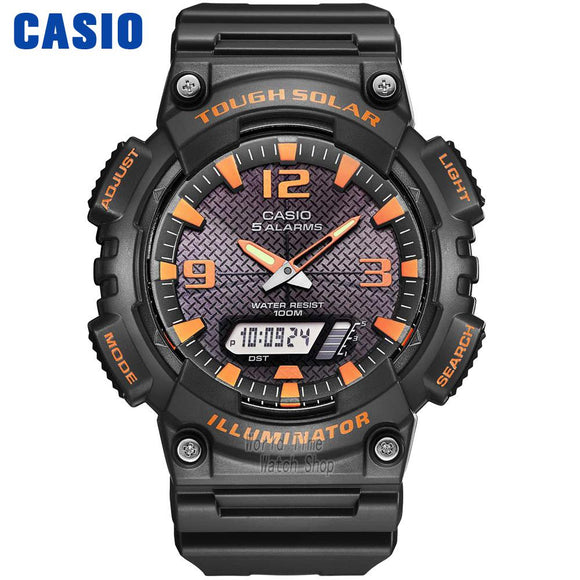 Casio men's sports watch, water resistant watch 10bar