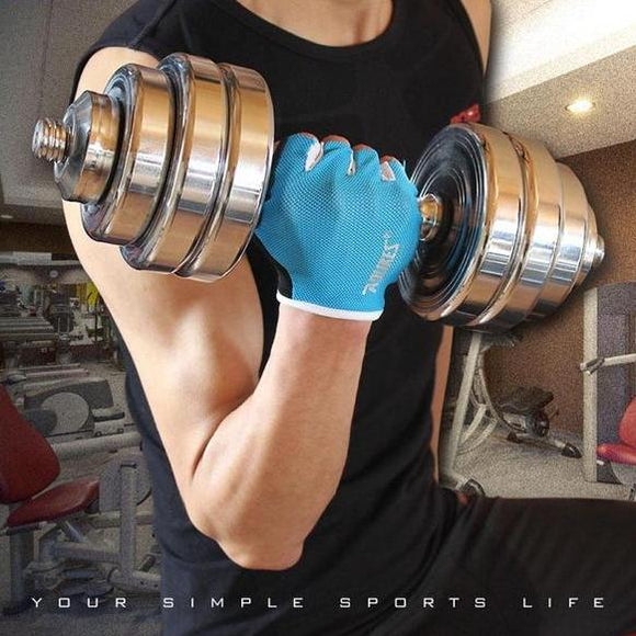 Lifting weights gloves