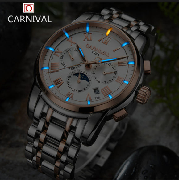 100% original carnival watch, water resistant watch