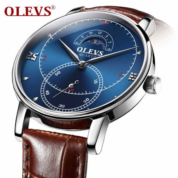 OLEVS watch for men, quartz watch