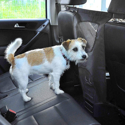 Back Seat Barrier™ - Pet Protection For Your Automobile!