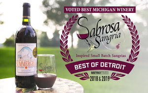 Sabrosa Sangria Best Michigan Winery Detroit Metro Times 2018 2019