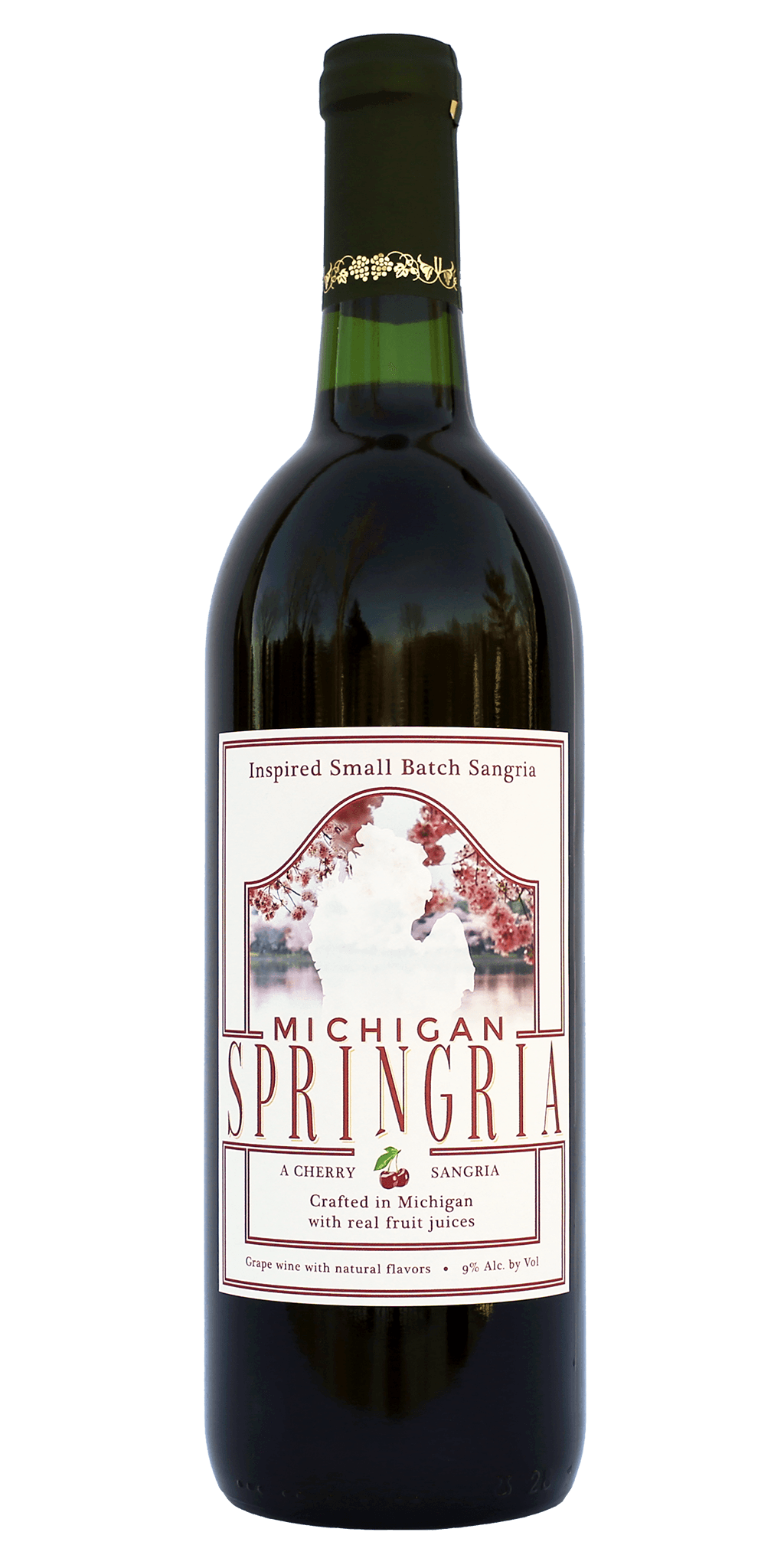 Michigan Springria — A Cherry Sangria