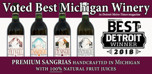 Sabrosa Sangria Best Michigan Winery 2018
