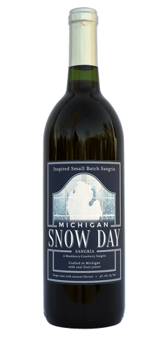 Michigan Snow Day Sangria — A Blackberry/Cranberry Sangria