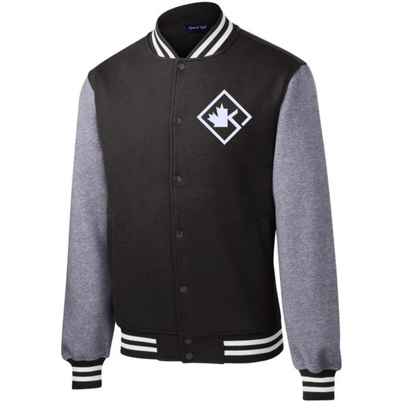 KOTD Diamond Fleece Letterman Jacket (Various Colours)