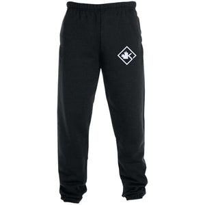 KOTD Diamond Elastic Bottom Sweatpants with Pockets