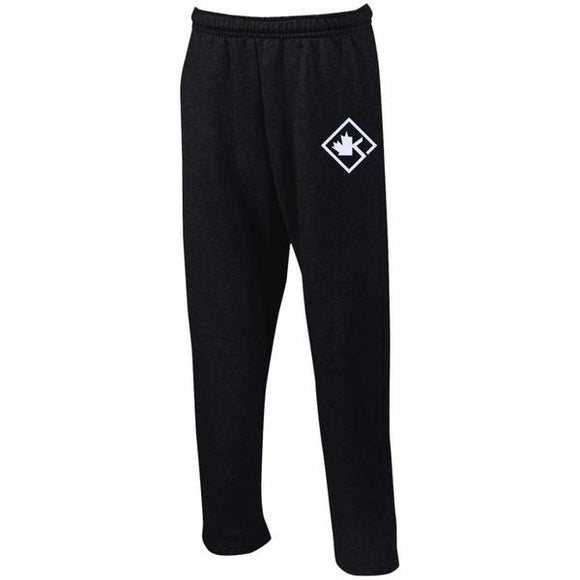 KOTD Diamond Open Bottom Sweatpants with Pockets (Various Colours)