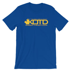 KOTD Limited Edition NBA Colourways - Golden State Warriors T-Shirt