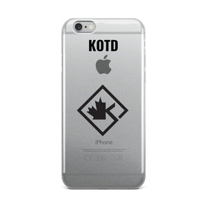 Clear KOTD Diamond iPhone Case