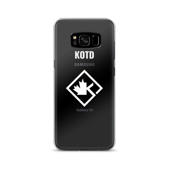 Clear KOTD Diamond Samsung Case