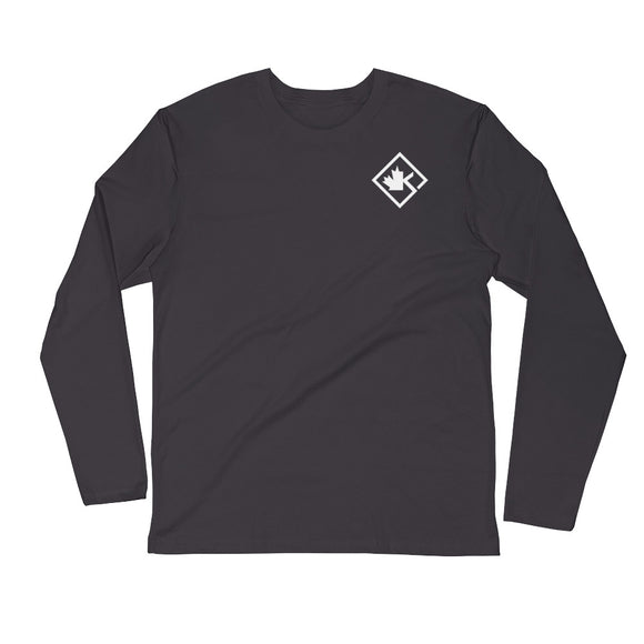 KOTD Diamond Long Sleeve Fitted Crew