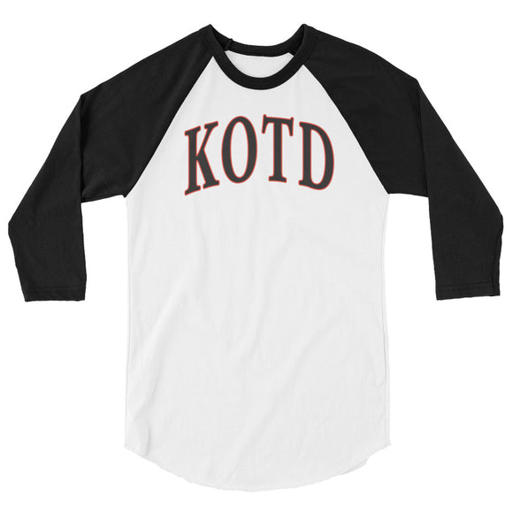 KOTD 3/4 Sleeve Raglan Shirt (Various Colours)