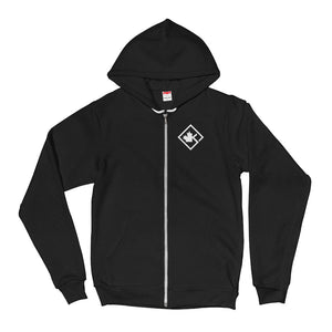 Women's KOTD Diamond Zip-Up Hooded Sweater (Various Colours)