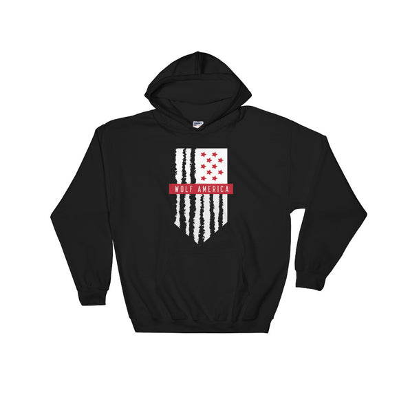 KOTD x Head I.C.E - Wolf America Hooded Sweatshirt (Various Colours)