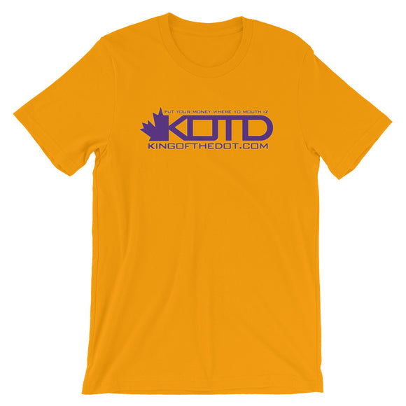 KOTD Limited Edition NBA Colourways - Los Angeles Lakers T-Shirt