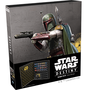 Star Wars Destiny Boba Fett Dice Binder