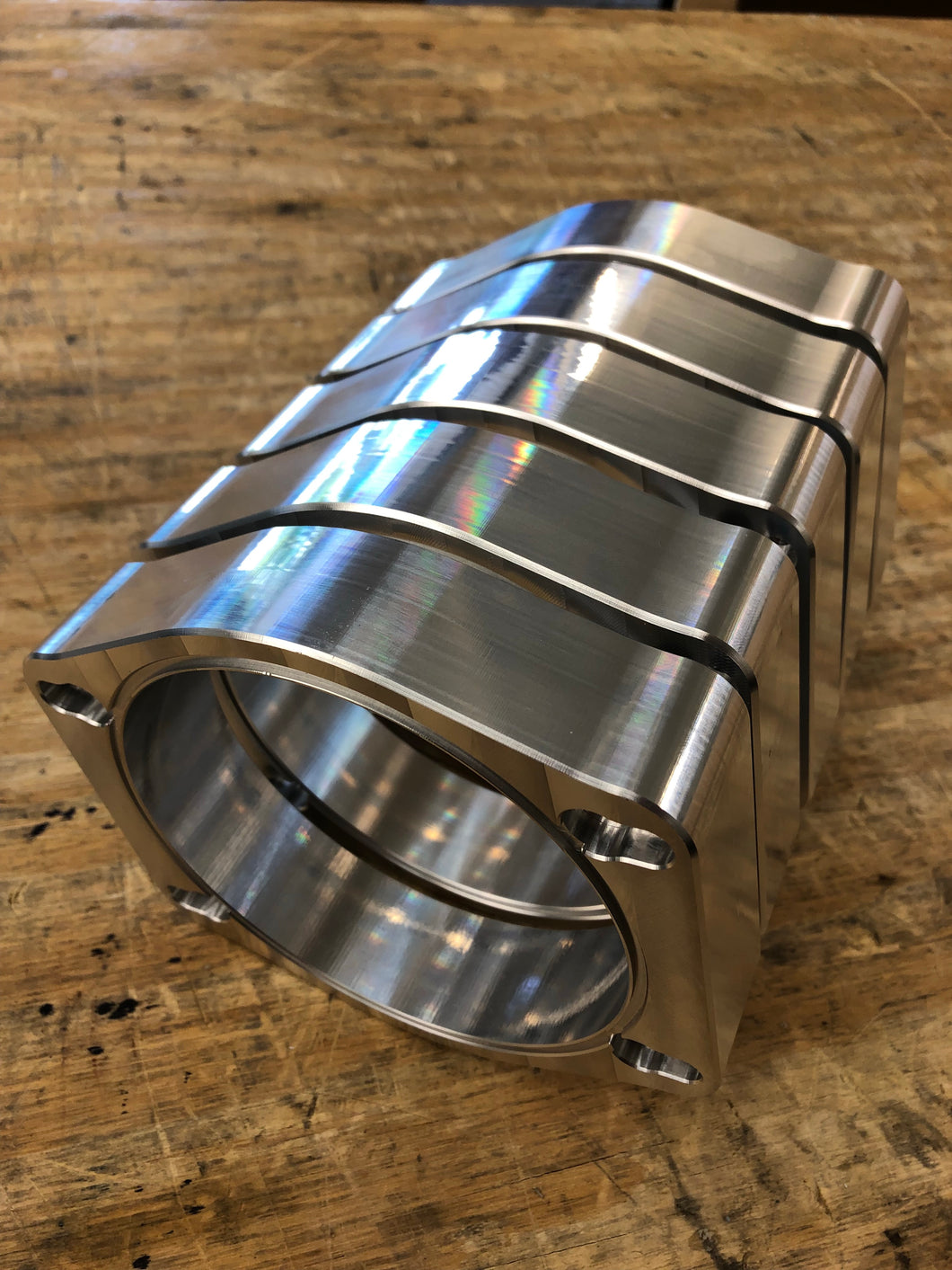 LT5 Billet adapter for 112mm Nick Williams Throttle Body