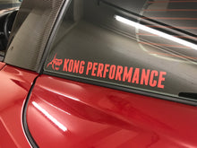 Kong Performance Window Decals