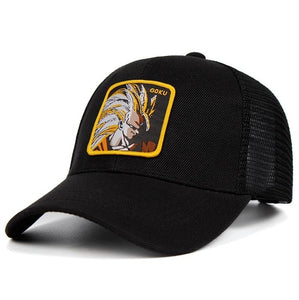 Son Goku Mesh Dad Hat