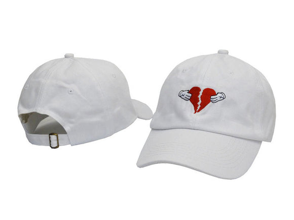 Kanye West Heartbreaker Dad Hat - Hype For Hats