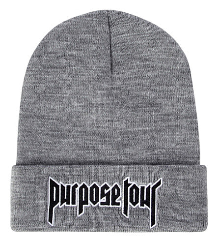 Purpose Tour Beanie - Hype For Hats