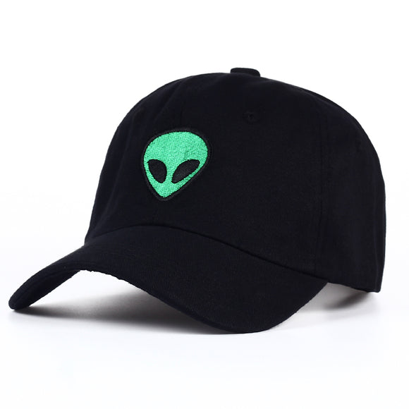 Green Alien Dad Hat - Hype For Hats
