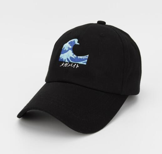 Japanese Wave Dad Hat - Hype For Hats