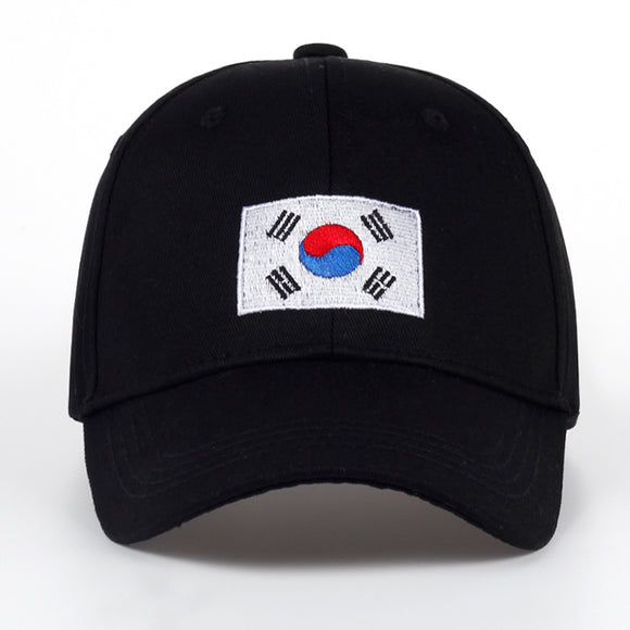 Korean Flag Dad Hat - Hype For Hats
