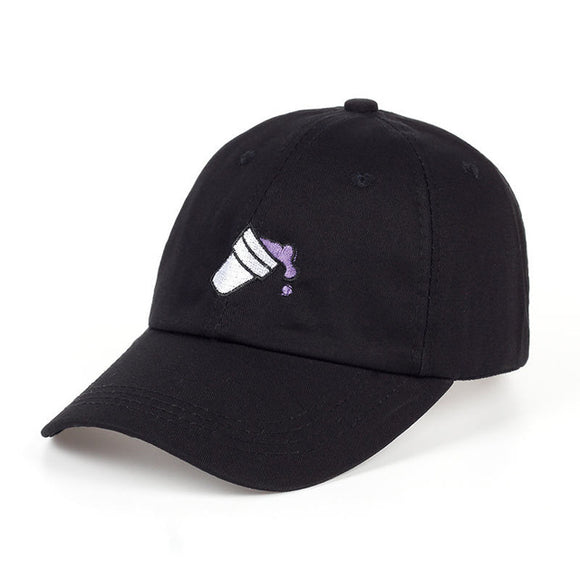 Purple Drank Double Cup Lean Cup Dad Hat - Hype For Hats