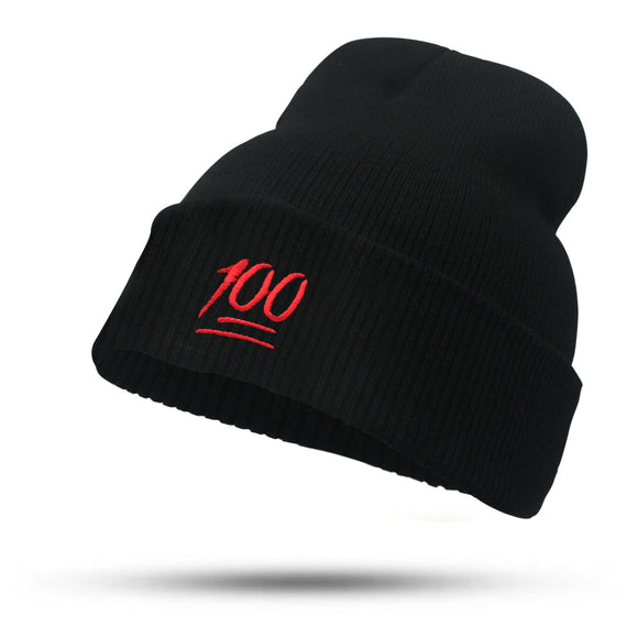 100 Emoji Beanie Hat - Hype For Hats