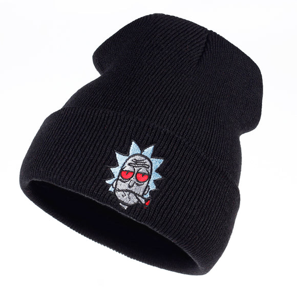 Rick Smoking Beanie - Hype For Hats