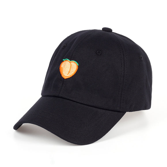 Peach Emoji Dad Hat - Hype For Hats