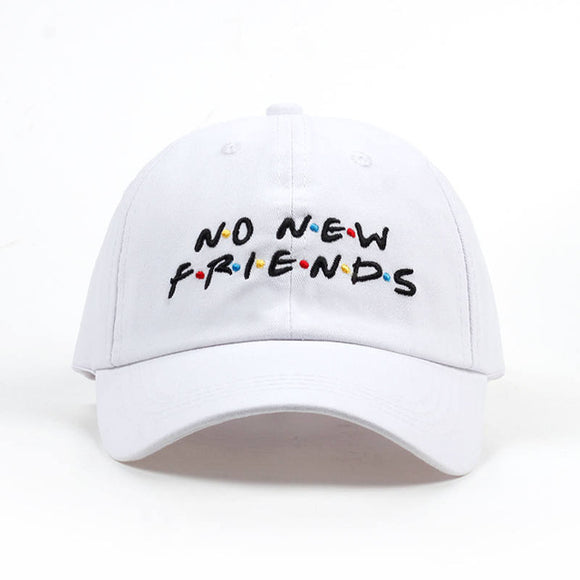 No New Friends Dad Hat - Hype For Hats