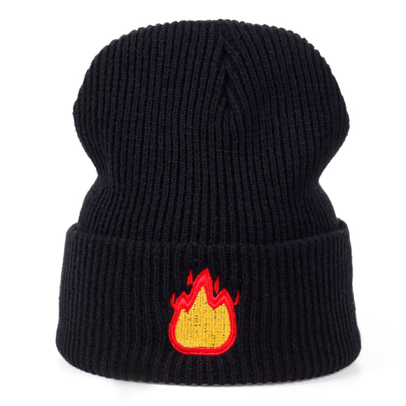 Fire Emoji Beanie - Hype For Hats