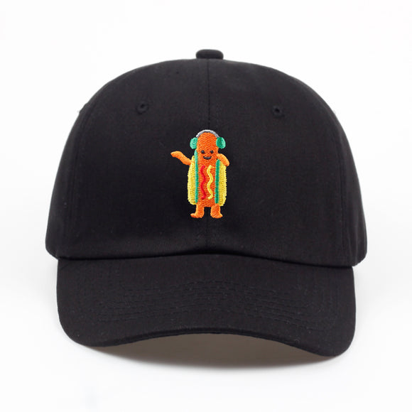Dancing Hotdog Dad Hat - Hype For Hats