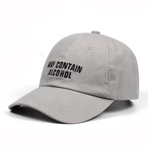 May Contain Alcohol Dad Hat - Hype For Hats