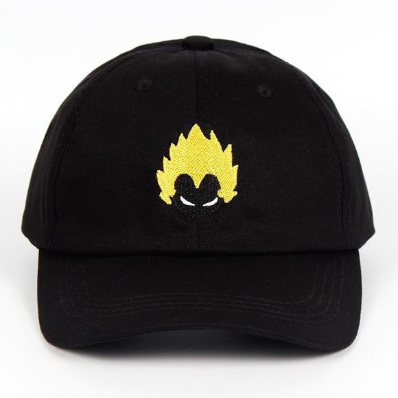 Dragon Ball Z Hair Dad Hat - Hype For Hats