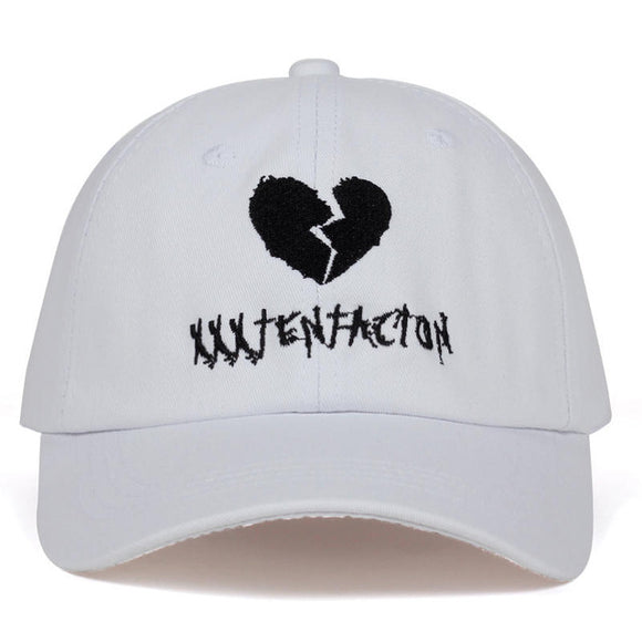 beab37828ef31 Broken Heart XXXTentacion Dad Hat - Hype For Hats